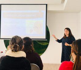 """Taller """"Aromaterapia, relajación y gestión de estrés"""" en Ánimo Bienestar"""